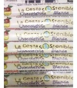 Chocolatinas Chocolate Blanco Cesta Sostenible 30gr (Pack 40ud)