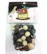 Frutos Secos Bañados en Chocolates Variados Cesta Sostenible 100gr (Pack 12ud)