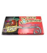 Chocolates Surtidos Cesta Sostenible (5 x 8 variedades)