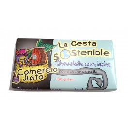 Chocolate con Leche Cesta Sostenible 100 g (Caja 20 tabletas)
