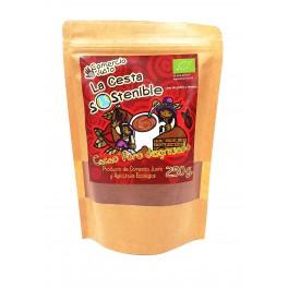 Cacao Bio Puro 250 g Cesta Sostenible (Caja 12ud)